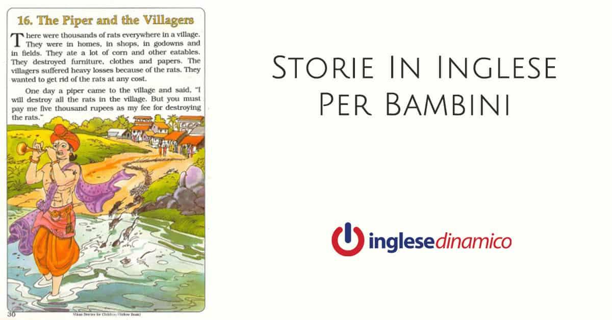 Storie In Inglese Per Bambini Le Migliori Inglese Dinamico